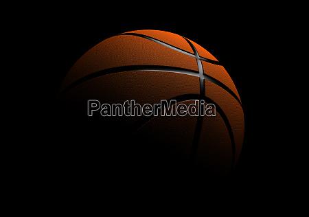 single basketball