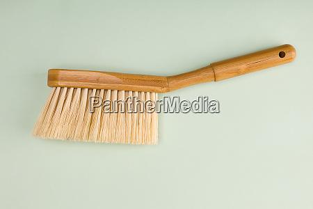 wooden hand broom