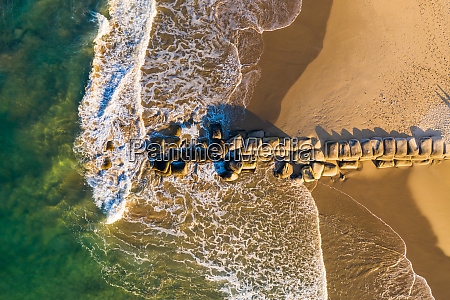 aerial view of sunshine coast queensland