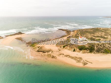 aerial view of praia de vila