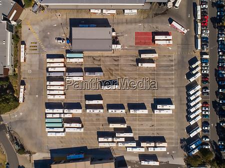 aerial view of dandenong victoria australia