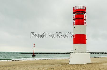 heligoland dune lighthouse north sea germany