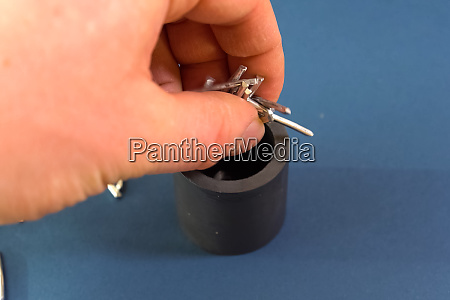 pieces of aluminum wire for chemical