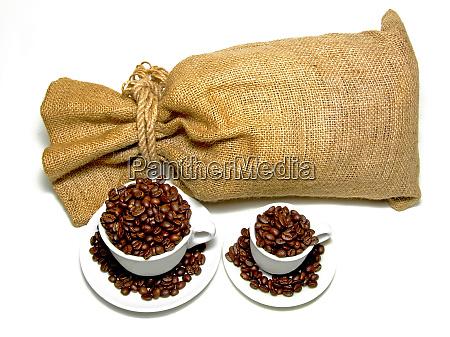sack and coffee