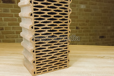 samples of hollow bricks factory products