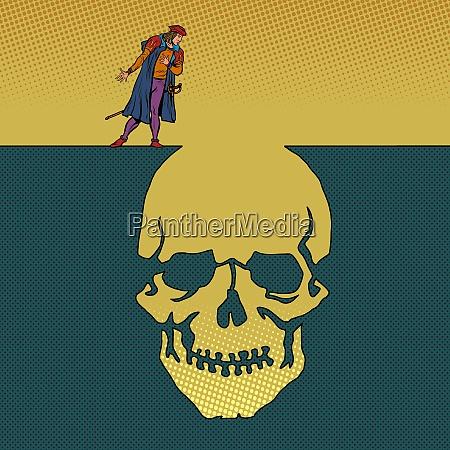 hamlet and the skull man next