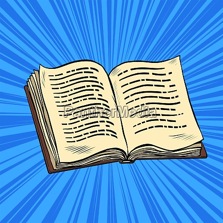open book reading knowledge library