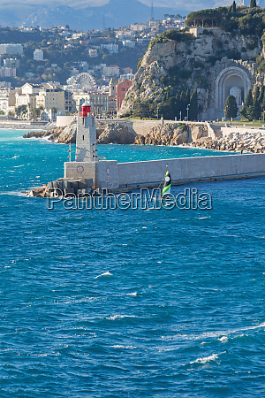 lighthouse in nice