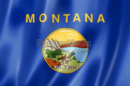 montana flag usa