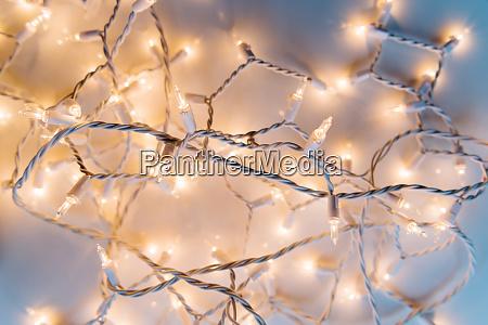 illuminated fairy lights