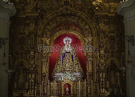 altarpiece inside chapel of the sailors