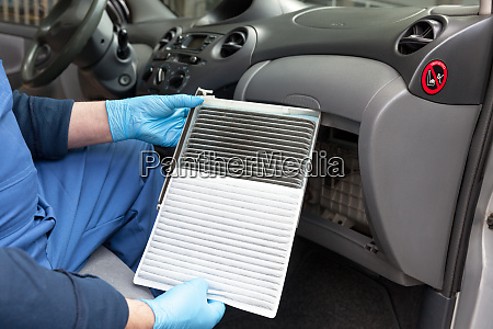 clean and dirty cabin pollen air