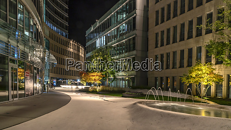 the wave modern architecture in frankfurt