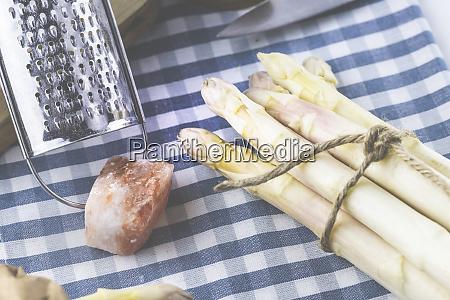 asparagus close up asperagus spring fresh