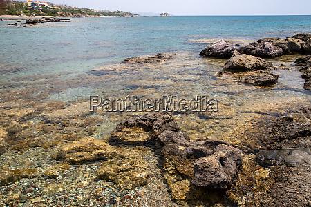 rocks at the beach of kiotari
