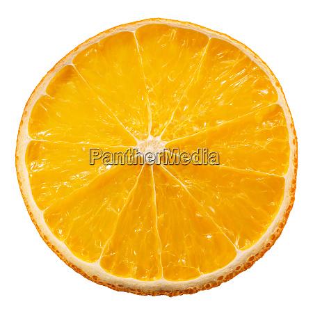 orange chip crisp dried slice paths