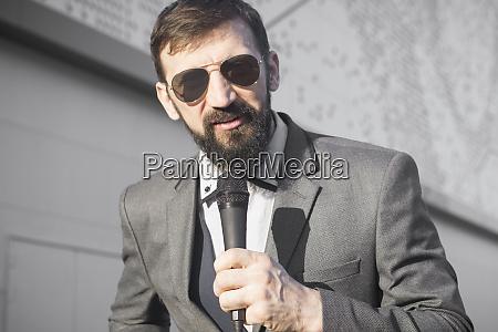 speaking tv reporter