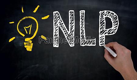 nlp is written by hand on