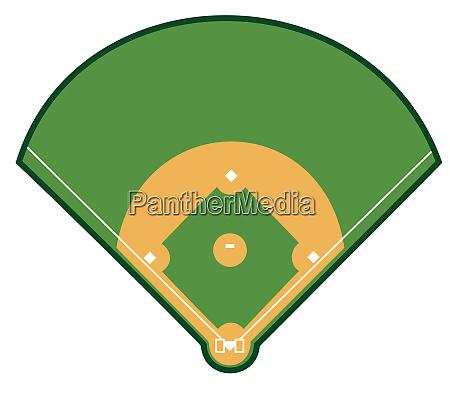 baseball field grass green dark game