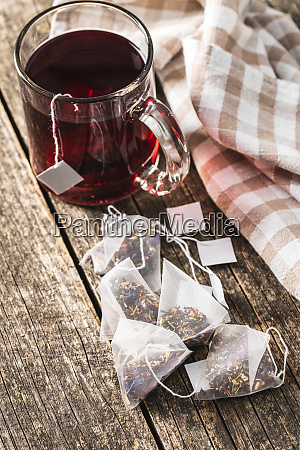 floral, tea, bag - 28175705