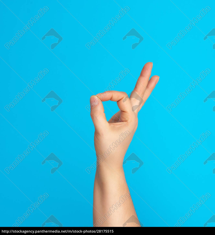 hand, shows, ok, symbol, on, a - 28175515
