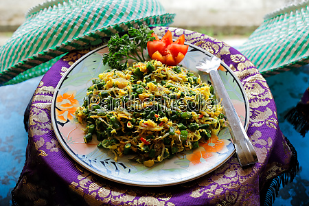 indonesian food balinese vegetable salad