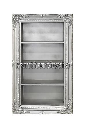 silver shelf