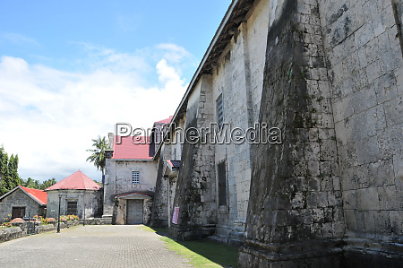 famous baclayon church on bohol in