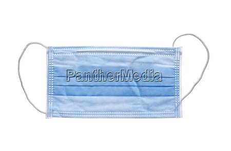 surgical mask mouth protection mouthpiece isolated