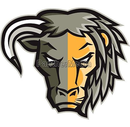 half bull half lion head mascot