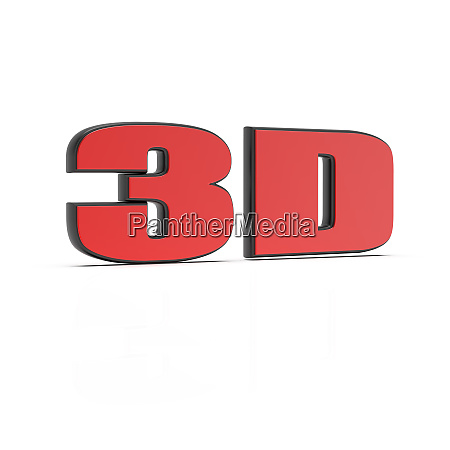 3d rendering of 3d text entertainment