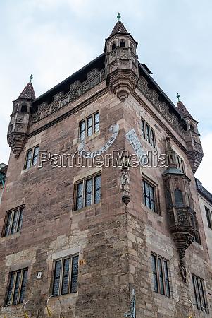 st lorenz church in the city