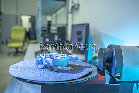 3d scanning of plastic molding by