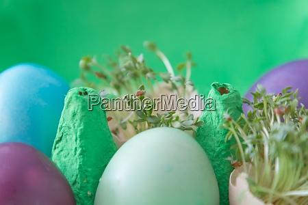 decorative handmade easter egg present box