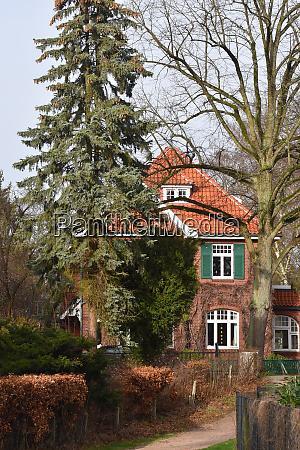 villa in hamburg bergedorf