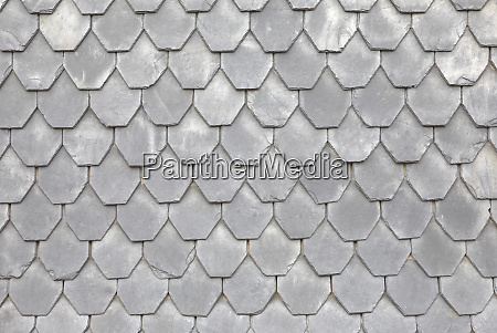 slate tiles on a typical home