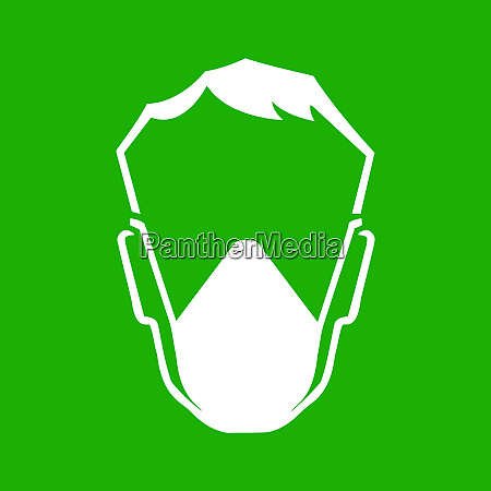 mask head respiratory protection safe green