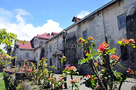 baclayon church on bohol in the