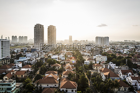 a view over district 2 and