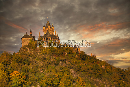 cochem city on the moselle