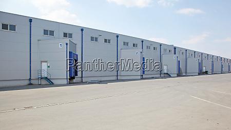 loading docks warehouse