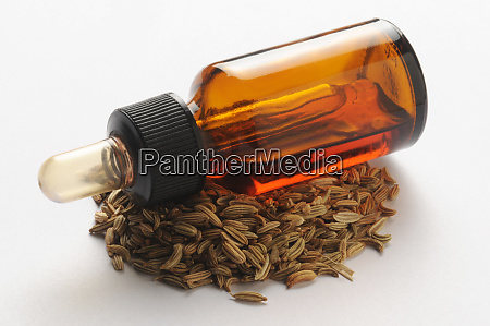 bottle of fennel seed concentrate