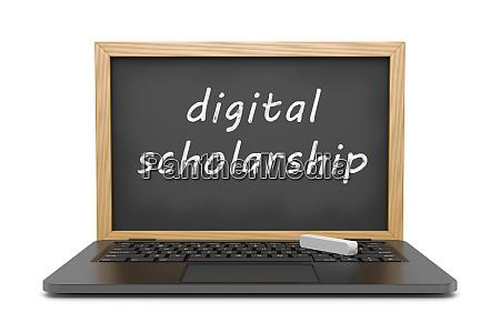 digital scholarship online lessons concept