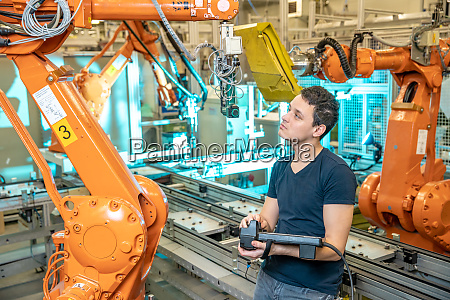 engineer controls using remote control of