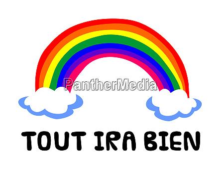 hope rainbow symbol