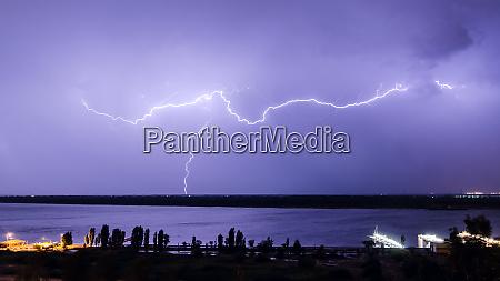 lightning over the river 9