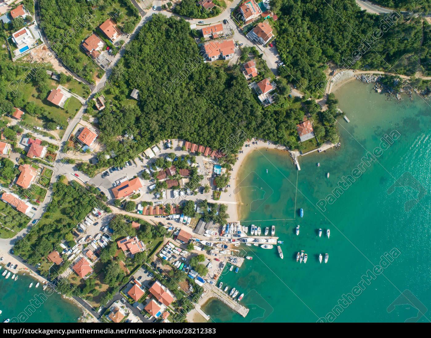 aerial, view, of, klimno, , croatia - 28212383