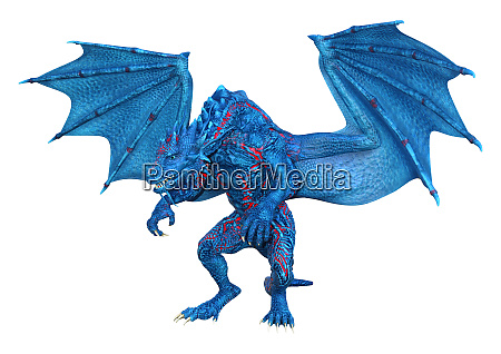 3d, rendering, fairy, tale, dragon, on - 28215646