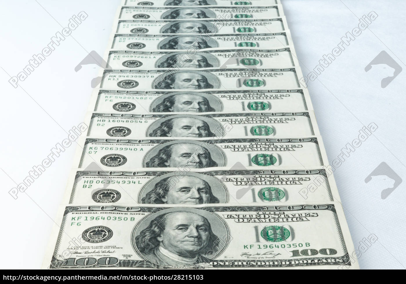 banknotes, of, dollars, are, stacked, in - 28215103
