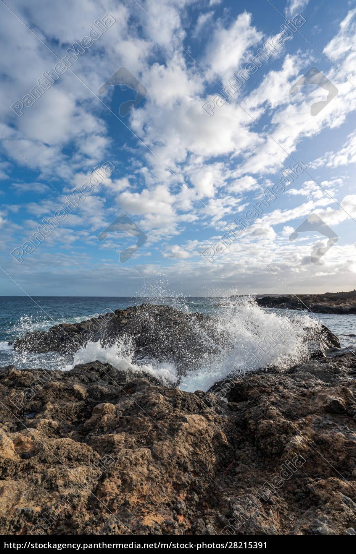 coast, on, lanzarote - 28215391